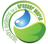 logo laundry systems for a green world imagen